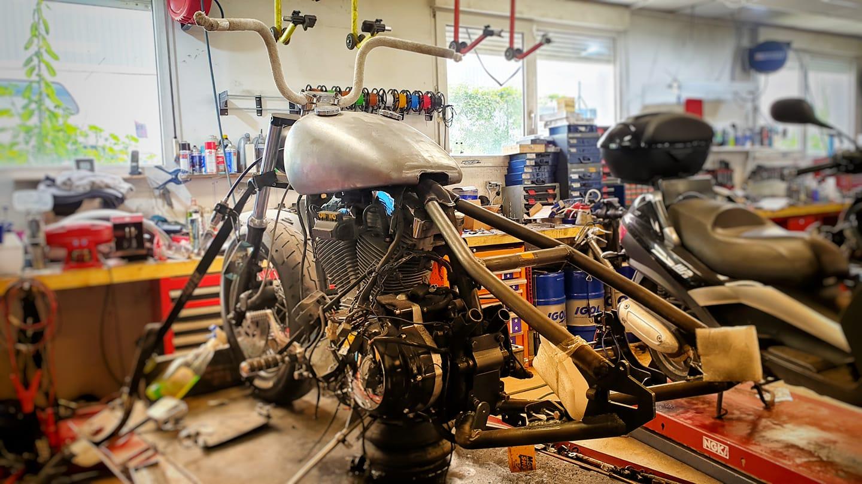 reparation de moto- panda 2 roues
