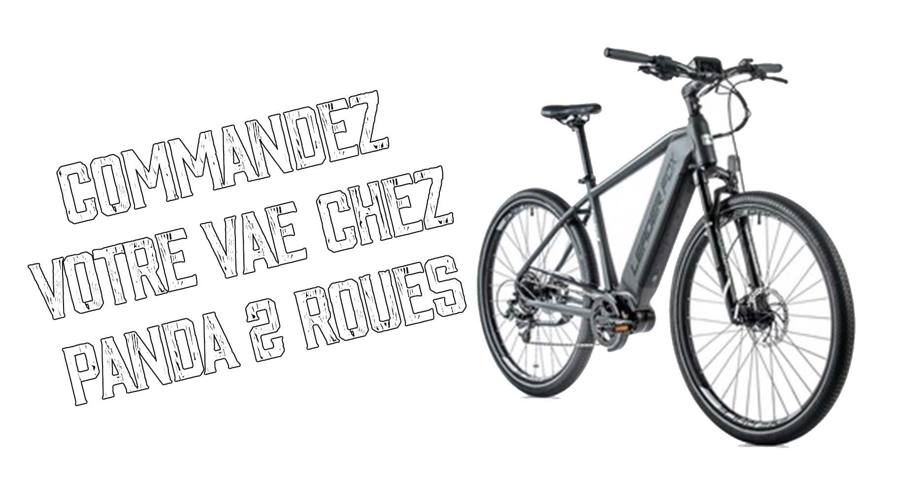 Commandez votre vélo électrique Leader Fox chez Panda 2 Roues !